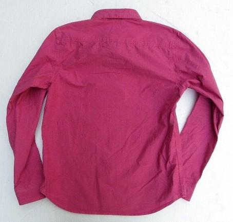 Vanilla Box 5周年記念別注!amanjakania-アマンジャカニア- まるで紙の様な風合い!タイプライターシャツ ピンク