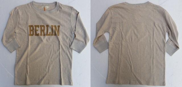 RIDING HIGH -ライディングハイ- 7分袖フットボールTシャツ BERLIN  4色 日本製