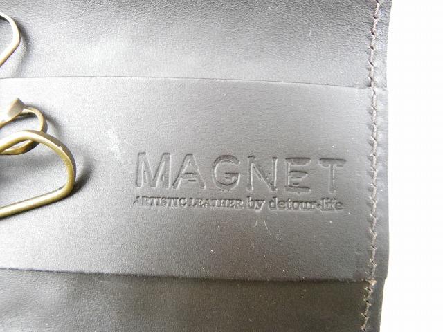 MAGNET-マグネット- スキモレザーキーケース