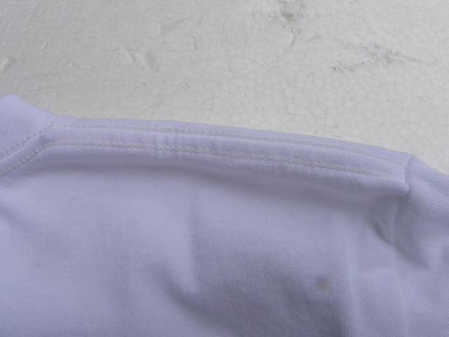 RIDING HIGH -ライディングハイ- 昔ながらの電着フロッキープリントで花火の柄を表現した 半袖Tシャツ ホワイト 日本製