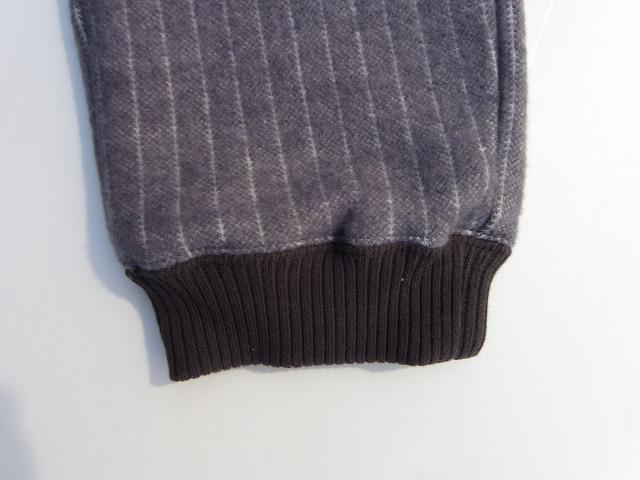 RIDING HIGH -ライディングハイ- ふっくらとした両面起毛のウール混スウェットパンツ  日本製