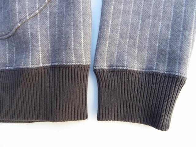 RIDING HIGH -ライディングハイ- ふっくらとした両面起毛のポケット付きウール混ククルーネックスウェット  日本製