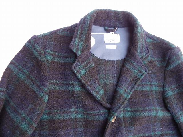 RIDING HIGH -ライディングハイ- イタリアで編み立てたウールジャージ素材を使用したブラックウォッチジャケット 日本製