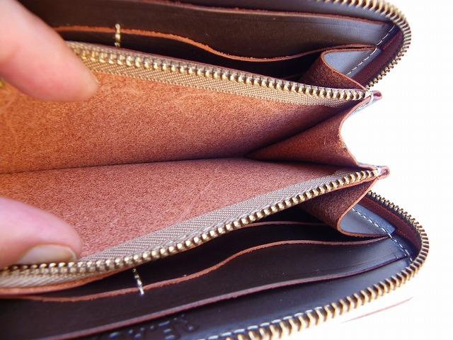 RE.ACT -リアクト- 北米産原皮を国内でなめしたオイルヌメ革を使用したロングジップウォレット