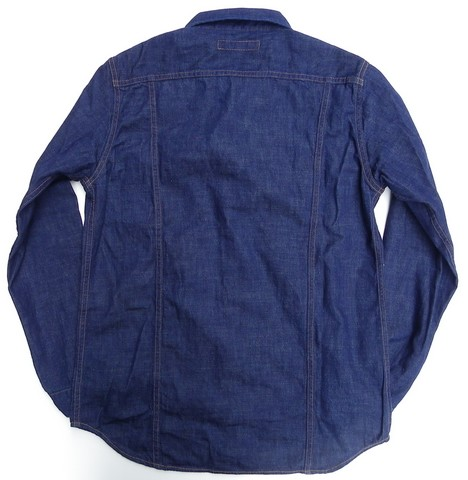 FULLCOUNT-フルカウント- 8オンスPWデニム使用!ロデオライダーデニムシャツ インディゴ 日本製