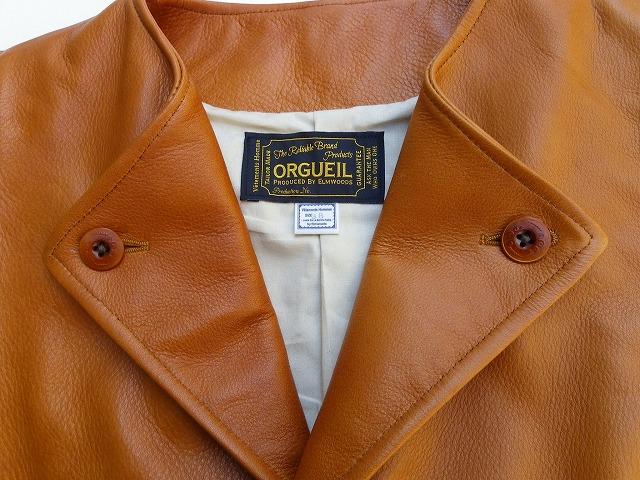 ORGUEIL-オルゲイユ- しっとり柔らかな質感!ステアオイルカウハイドのハンティングジレ 日本製