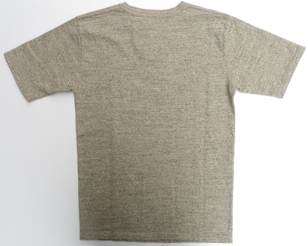 ORGUEIL-オルゲイユ- 落ち綿を使用し吊り編み機で編み立てたクルーネックTシャツ 2色 日本製