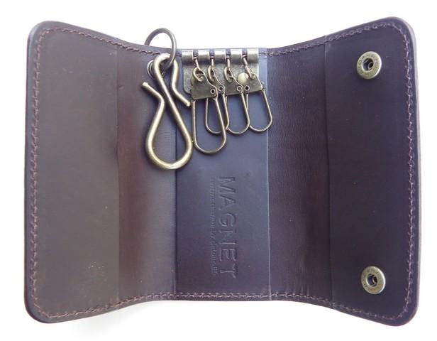 MAGNET-マグネット- 特許取得のスキモレザーを使用した使い易さも重視した レザーキーケース 4柄 日本製