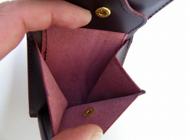 MAGNET-マグネット- Vanilla Box別注!特許取得のスキモレザー!ウッドレインボー柄の2つ折りショートウォレット 日本製