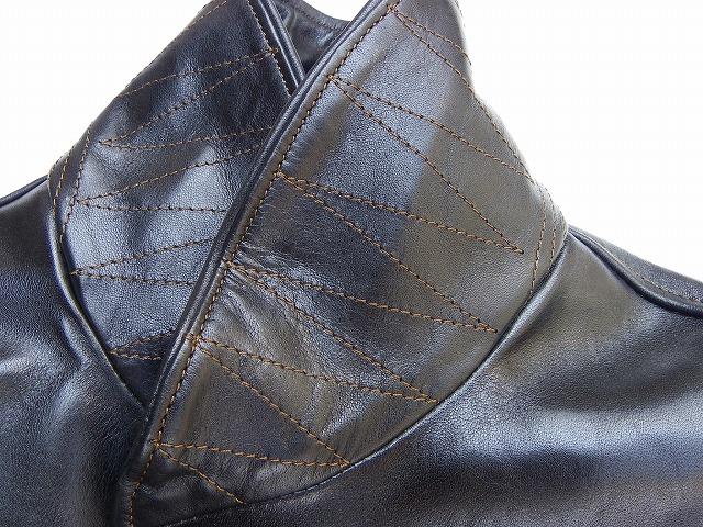 ORGUEIL-オルゲイユ- 上質なオイルアップされた馬革!ホースレザーコサックジャケット 日本製