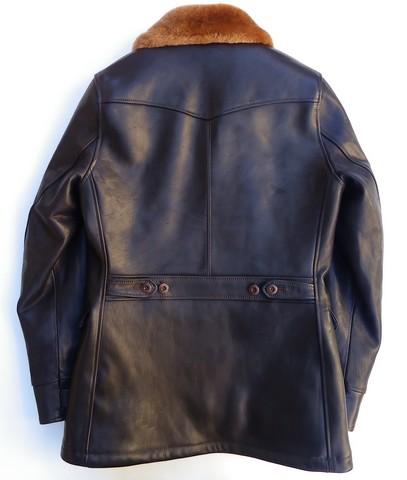 ORGUEIL-オルゲイユ- ベジタブルタンニンなめしの馬革!ホースレザーアビエーションコート 日本製