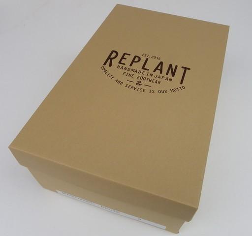 REPLANT-リプラント- スエードを使用した80年代をベースにしたクリスティーソールポストマンシューズ ベージュ 日本製