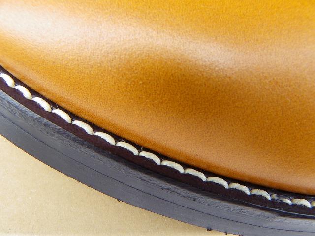REPLANT-リプラント- アンティックオイルレザーを使用したオックスフォードワークシューズ キャメル 日本製