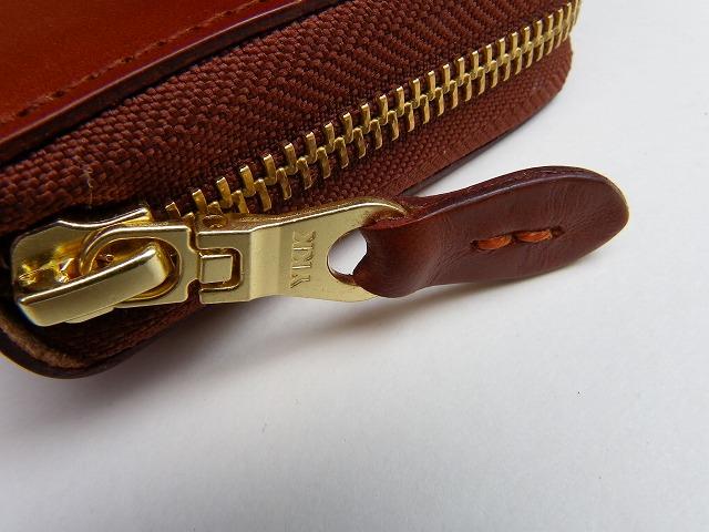 RE.ACT -リアクト- ドイツの老舗タンナー「キルガー社」のブライドルレザー ロングジップウォレット 日本製