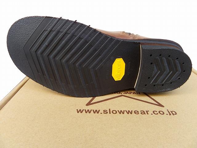 SLOW WEAR LION-スローウェアライオン- ホーウィン社クロムエクセルレザー使用のエンジニアブーツ ナチュラルカラー 日本製