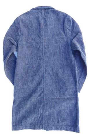 pure blue japan-ピュアブルージャパン- インディゴモールデニムコート 日本製