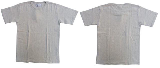 ORGUEIL-オルゲイユ- 強撚糸で編み立てた接結クルーネックTシャツ 2色 日本製