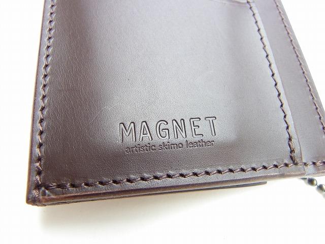 MAGNET-マグネット- 特許取得!スキモレザー使用のスリムウォレット 4柄 日本製