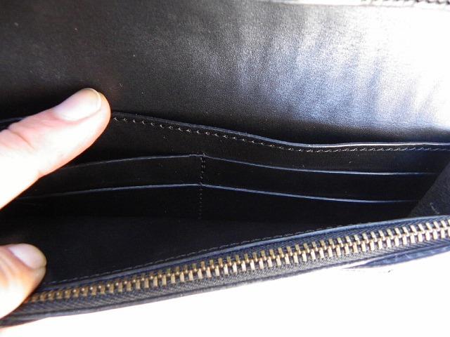 MAGNET-マグネット- スキモレザーのウッド柄!カードポケットも多いロングウォレット