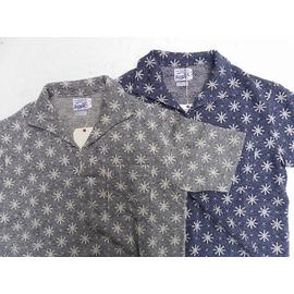 RIDING HIGH -ライディングハイ- 「花火」をイメージしたジャガード編みの半袖スウェットイタリアンポロシャツ 2色