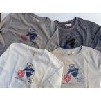 RIDING HIGH -ライディングハイ- ミリタリーテイストなリブ使い!7分袖Tシャツ SUNSET BULL  4色