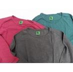 I.PJ -In-Proud Japan- 10番スラブ糸を使用し、柔らかく凹凸感のある風合い!スラブフリーダムロングTシャツ