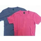 I.PJ -In-Proud Japan- オーガニックコットンを吊り編み機でゆっくりと編み立てた柔らかな天竺生地のピグメントバイオウォッシュTシャツ 2色 日本製