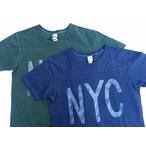 BARNS-バーンズ- 機能素材COOLMAX(クールマックス)糸で編み立てた天竺生地を使用したのプリントTシャツ 2色 日本製