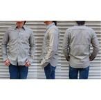 IPJ -In-aProud japan-  ワタの段階で染めたTOPインディゴ糸パディングセルヴィッチチェックシャツ 日本製