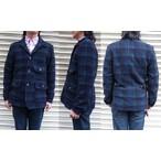 RIDING HIGH -ライディングハイ- イタリアで編み立てたウールスエット素材を使用したブラックウォッチジャケット 日本製