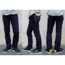 pure blue japan-ピュアブルージャパン- xx010  ヨコ糸にパープルを使用した斬新な細身シルエットのジーンズ 日本製