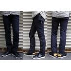 pure blue japan-ピュアブルージャパン- xx013 裾まで絞り込んだスッキリとしたシルエットのテーパードスリムジーンズ