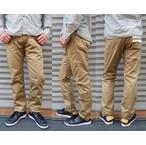 桃太郎ジーンズ 高密度ウエストポイント使用の5ポケットパンツ キャメル 日本製