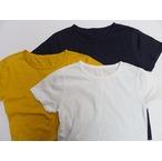 IPJ -In-Proud Japan- 吊り編みスーピマコットン天竺のフラットシーマー縫製!定番無地Tシャツ 3色 日本製
