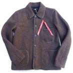 BROWNS BEACH -ブラウンズビーチ- 定番のカバーオールジャケット FULLCOUNT産!OXFORD GREY 日本製