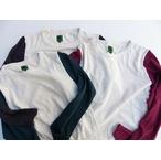 IPJ -In-Proud Japan- 10番スラブ糸を使用し、柔らかく凹凸感のある風合い!スラブベースボールロングTシャツ