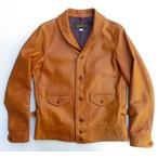 ORGUEIL-オルゲイユ- しっとり柔らかな質感!ステアオイルカウハイドのコサックジャケット 日本製