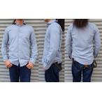 ORGUEIL-オルゲイユ- 柔らかな杢シャンブレー素材!インディゴウィンザーカラーシャツ 日本製