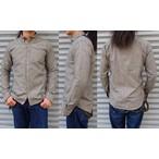 ORGUEIL-オルゲイユ- まるでヴィンテージの様な風合い!シャンブレーボタンダウンシャツ  グレー 日本製