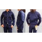 桃太郎ジーンズ 高級ライン 銀丹レーベル 2103AI  ヨコ糸に本藍染め糸を使用した2ndタイプデニムジャケット 13.5oz 日本製
