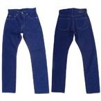 桃太郎ジーンズ 最高級ライン クラウンレーベル T004-MZ 金丹レーベルとして存在していた本藍染め手織りジーンズ 13.5oz 日本製