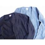 桃太郎ジーンズ 100%リネン素材の真夏も使える羽織カーディガン 2色 日本製