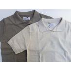 ORGUEIL-オルゲイユ-  コットンニットソー イタリアンポロシャツ 2色 日本製