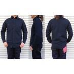FULLCOUNT-フルカウント- ベーシックシャンブレーシャツ ブラック 日本製