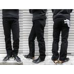 桃太郎ジーンズ 出陣レーベルB0205SP タテ糸・ヨコ糸共にブラック!!太すぎず細すぎずの緩やかなテーパード ブラックジーンズ 日本製