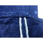 カラー糸での裾直し